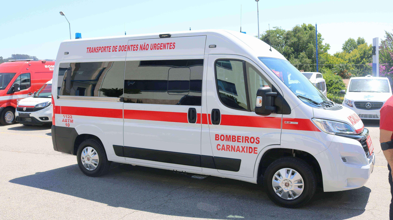 Equipa transporte de doentes
